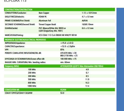 ECS-COAX 113