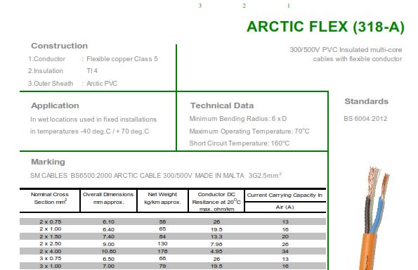 ARCTIC FLEX (318-A)