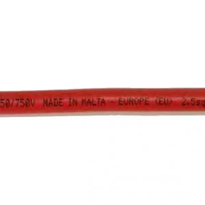 PVC Insulated cables with stranded conductor 450/750V